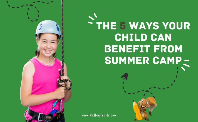 The 5 Ways Your Child Can Benefit from Summer Camp